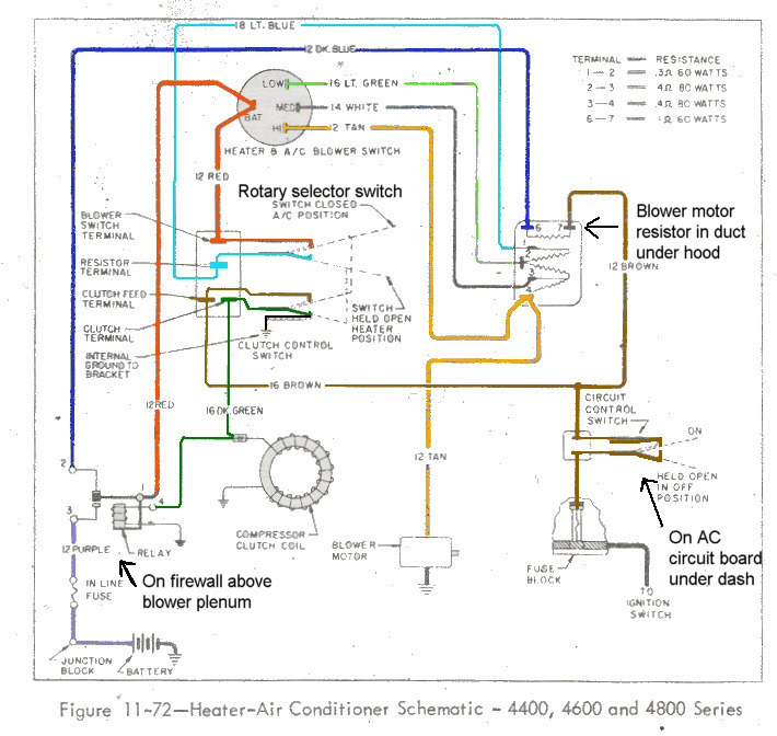 Central Air Conditioner Thermostat Wiring Diagram from www.1964buick.com